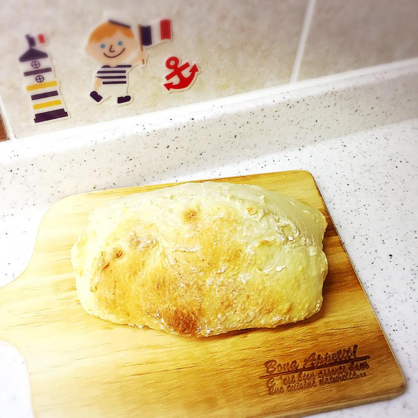 簡単♡冷蔵庫パン:プレーン