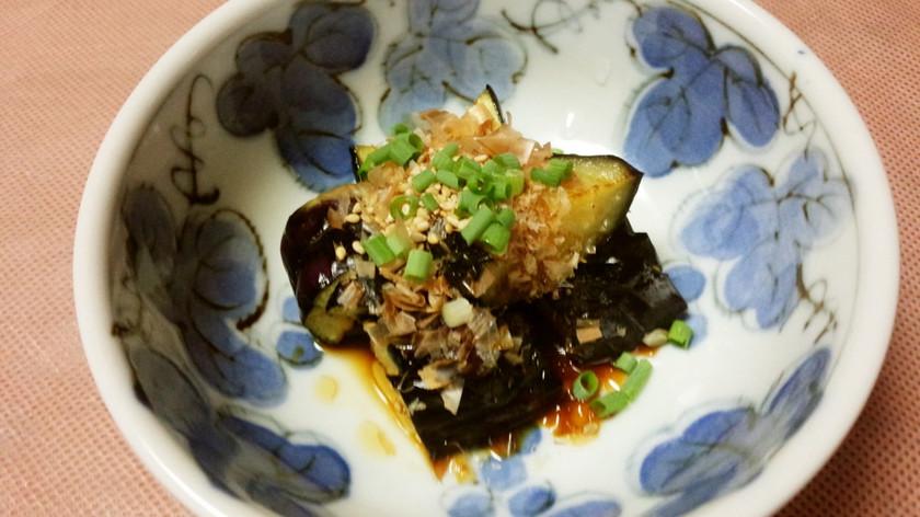 揚げ茄子(ゴマ醤油だれ味)