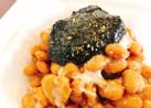 納豆に☆山椒と海苔の佃煮