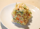 彩意識したポテトサラダ