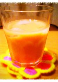ドクターペッパーの牛乳割り*杏仁豆腐味?