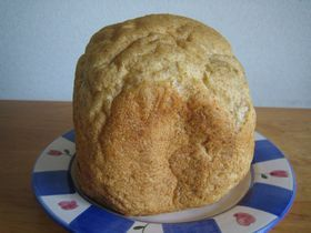 全粒粉のパン(ホームベーカリで作る)