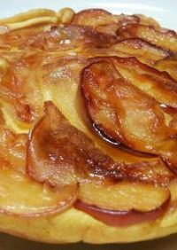 リンゴと黄金芋のケーキ
