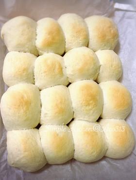 型無しでもOK!手ごねで簡単☆ちぎりパン