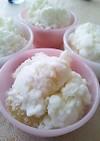 簡単♪ヨーグルトと桃のアイス