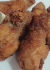 骨付き鶏肉で!大人のピリ辛フライドチキン