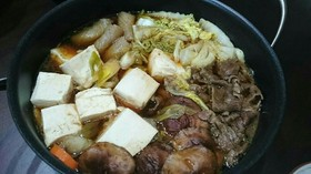 ◆簡単◆すき焼き風鍋