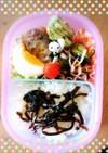 幼稚園のお弁当 作り置きおかずで簡単3