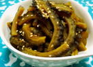 蜂蜜で円やかなゴーヤの佃煮