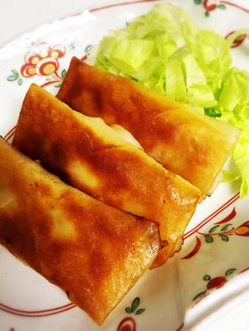 美味い!簡単!梅しそチーズ春巻き