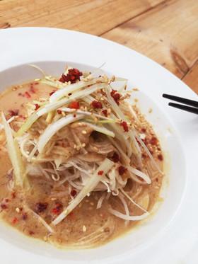 簡単♡酵素たっぷり♡ねりごまベジ担々麺♡