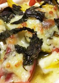 豆腐deバジル&チーズグラタン