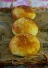 コーンとポテトのふんわり塩パン