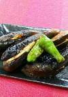焼肉のたれで☆茄子の鶏肉のはさみ焼き☆