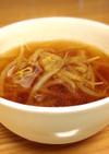 妊婦つわり時に★生姜もやしスープ