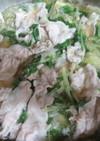 キャベツの生姜鍋