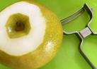 私的☆梨やリンゴの皮の剥き方