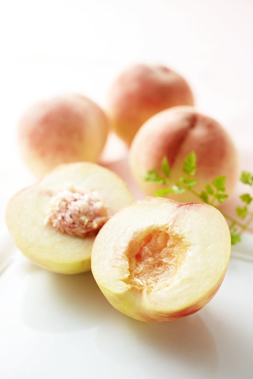 上手な桃の剥き方