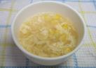 春雨入り中華風コーン卵スープ
