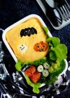 簡単ハロウィンデコ♡オムライス弁当!