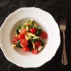 夏に最適!野菜たっぷり簡単冷たいパスタ