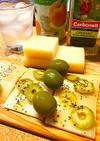 簡単チーズのおつまみ