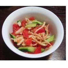 トマトきゅうりセロリのサラダ☆