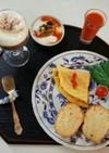 カフェ朝食風(血管ダイエット食855)