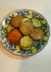 むくみ解消☆ズッキーニと胡瓜のマヨポン焼