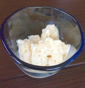 優しいお味*材料3つでお豆腐アイス