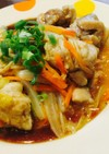 鶏モモ肉と白菜のうま煮