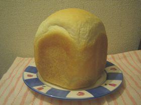 HBで作る白神こだま酵母の食パン