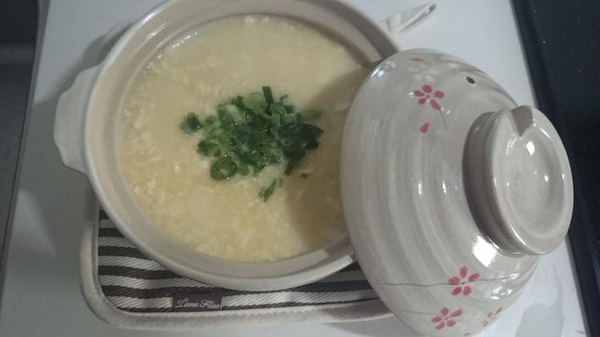 風邪やダイエットに♪豆腐で雑炊(お粥)風