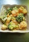 オリジン風 海老とブロッコリーのサラダ
