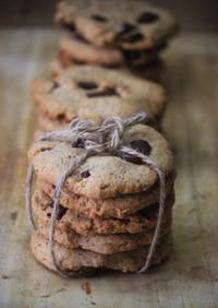チョコチップクッキー 砂糖・小麦粉不使用