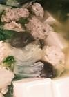 ダイエット満腹スープ☆肉団子塩ちゃんこ鍋