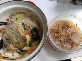 100円以下料理!#13素麺ラーメン春雨
