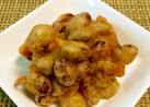 煮豆の天ぷら~♪