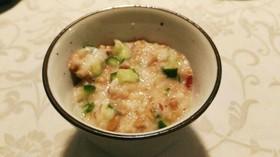山芋と納豆のご飯のお供
