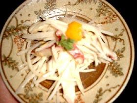 生姜みそレシピ⑩タコとツマの和え物