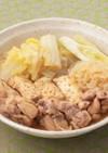 白菜の鶏すき煮