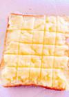 メロンパントースト☆家にあるもので簡単!