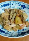 冬瓜と鶏肉の味噌炒め(減塩レシピ)