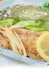 野菜たっぷり鯖ホイル焼き