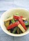 夏野菜の揚げ物