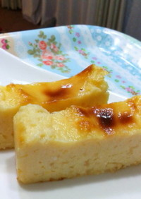 低コスト低カロリー簡単ヨーグルトケーキ☆