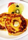ホテルの朝食♡簡単車麩のフレンチトースト