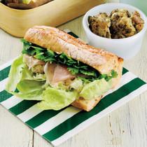 パクポテトサラダの野菜サンド