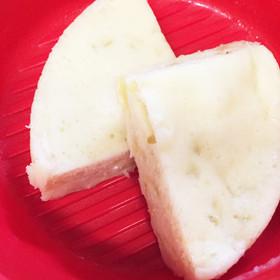 レンジでもっちり蒸しパン 離乳食に♡