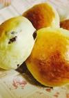 イギリスパン生地で作る甘い豆パン